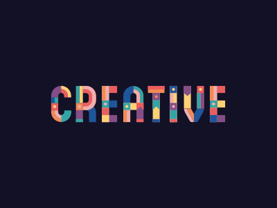 Type for a kids clothing brand creative colour pattern typography