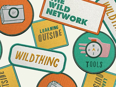 Wild Network Patches patches camera nature hand wild