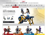 Cirrus Fitness Ecommerce