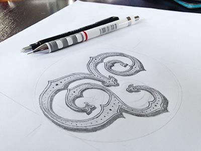 Ampersand dribbble
