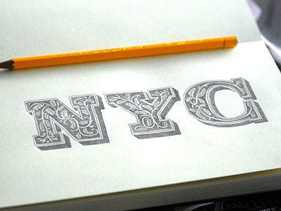 Nyc lettering