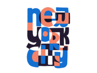 New York City Illustrative Lettering