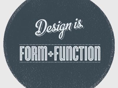 Form+Function retro metroscript cyclone