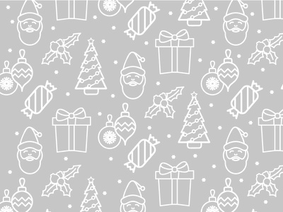 Christmas Pattern pattern stickers icons christmas