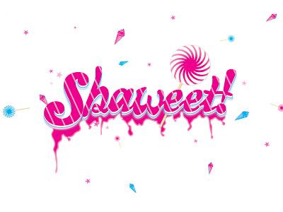 Shaweet Illustration color pop just for fun playful vector illustration
