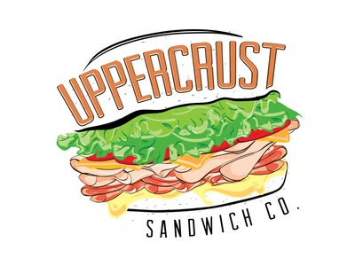 Uppercrust Sandwich Co. Logo