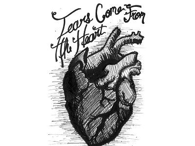 Inktober Day 5 / Sad quotes inktober 2016 inktober ink dark heart