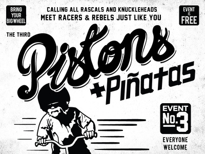Pistons And Piñatas Poster Detail
