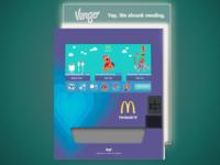 McDonald's Vengo Machine Exterior Concept with Custom UI