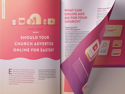 Easter Advertising Magazine Article