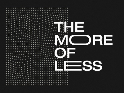 The More of Less Continued complexity simplicity lesson easter simple logo christ mark illustration jesus series sermon ministry church