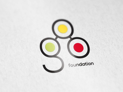 Go Fundation logo identity logotype