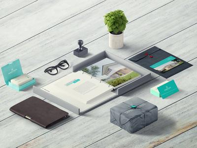 Real Estate Visual Identity identity visual