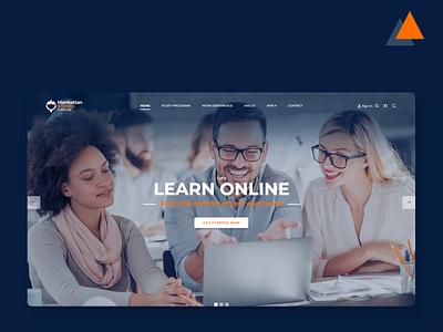 Branding Project branding homepage website logo design identity