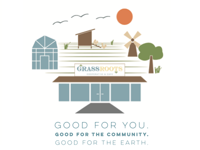 Grassroots Co Op expansion illustration