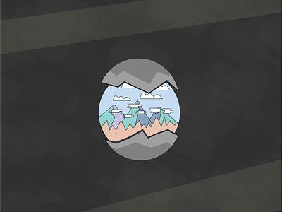 Mountain Egg illustrator
