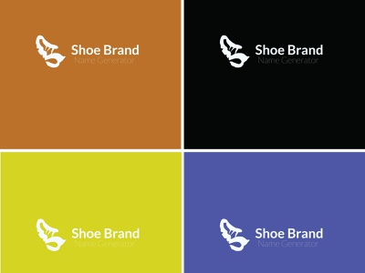shoe logo (S) vector design logo icon illustrator