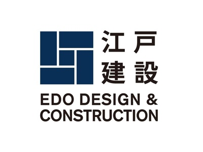 Edo Design & Construction logo branding japan