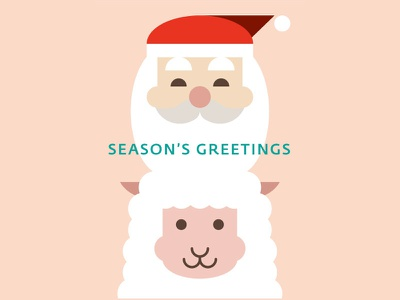 Seasons Greetings greeting card christmas