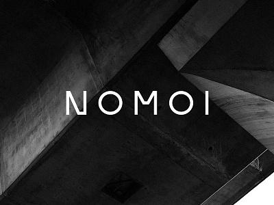 NOMOI Identity nomoi identity logo branding