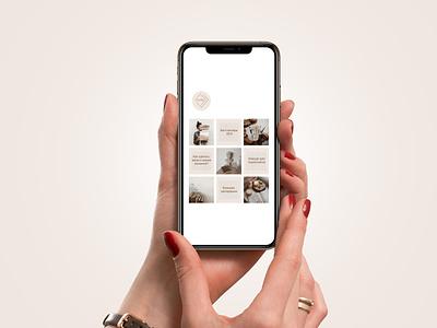 Instagram account design instagram graphic design photoshop minimal branding logo vector illustration design web