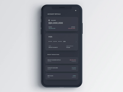 Finance App money management bank app finance app principal principle app clean design dribbble design ux ui animation iphone x ios app uiux sketch