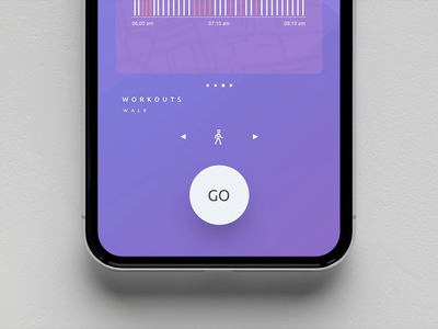 Fitness App fitness app principle app clean design dribbble design animation ui ux iphone x ios app uiux sketch