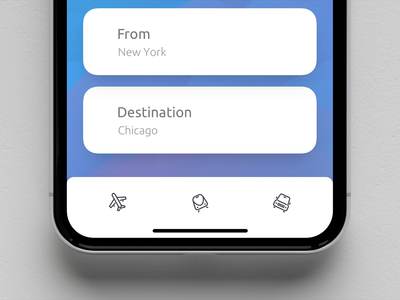Planes, Trains & Automobiles experiment principle app clean design animation ux ui dribbble design iphone x ios app uiux sketch