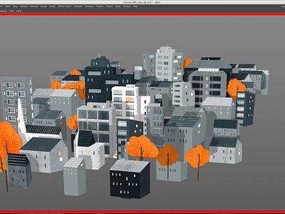 The Furrow Collaboration (Plant Life) 3d plants cinema 4d buildings c4d after effects animation 2d