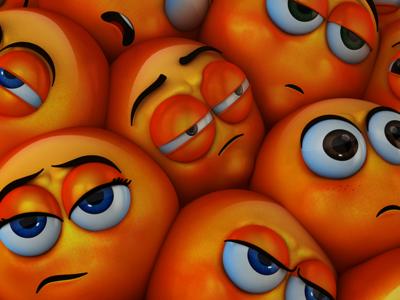 Bottled Up - Annoyed annoyed adobe illustrator emoji motion graphics photoshop cinema 4d c4d 3d illustration motion design