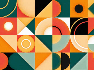 Geometric Grid Loop geometric design 2d motion design motion graphics after effects animation