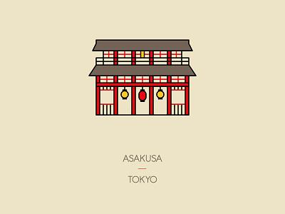 Asakusa, Tokyo asakusa travel japan tokyo shrine temple icon