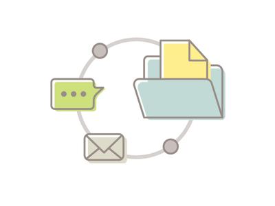 Info Loop Illustration