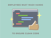 Wash Hands for Clean Code