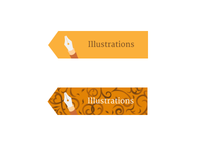 Illustration Hover State Buttons