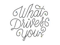 Google Drive Lettering