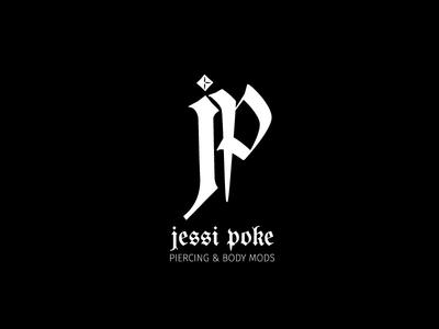 Jessi Poke Piercing & Body Mods Logo