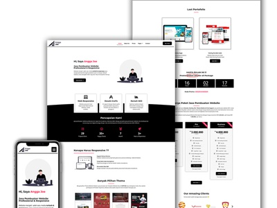 Web Portofolio webservices portfolio webdesign