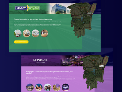 Lippo Karawang City - Website mall apartment hospital house website design ux ui