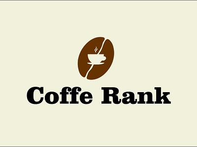 coffe rank 2 illustration icon logo design