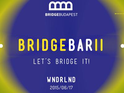 Bridge Bar 2 event design graphic design event promotion