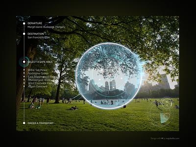 Design the UX of teleporting device sci-fi future design ux ui