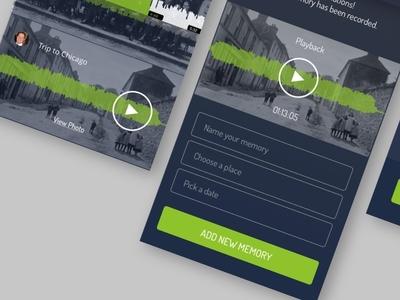 Vita Infinita App Concept app mobile ios visual design user interface design