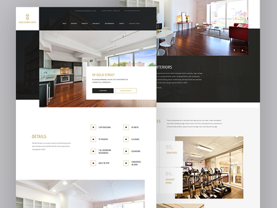 99 Real Estate Web Site interior flat design ux ui website estate real