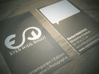 EYES WIDE SHOOT Business card
