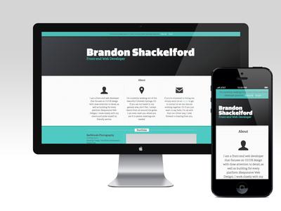 bshackelford(dot)com front-end front-end developer web web design web development portfolio