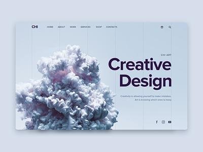 Creative Design design ux ui concept inspiration web web design ux design ui design creative design creative