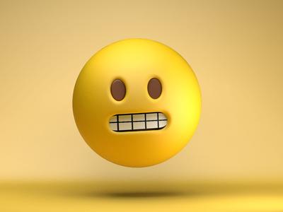 The face you make... weird awkward meme art design emojis emoji c4d