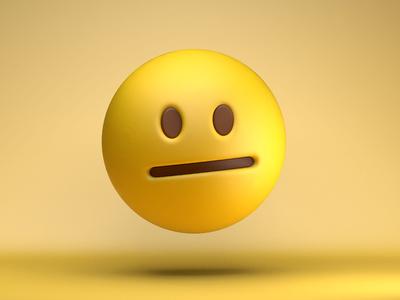 The face you make...*_* clean awkward design art emojis emoji 3d c4d