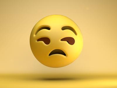 That face you make...-_- --- art design emojis emoji 3d c4d